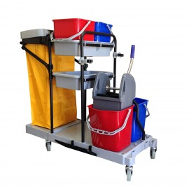 JANITORIAL CART MULTIFUNCTIONAL