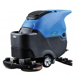 """Autoscrubber with Traction - Johnny Vac JVC70BCTN - 28"""" (711 mm) width - with Battery and Charger - Demo"""
