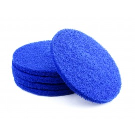 "Floor Machine Pads - Super Clean - 13"" (33 cm) - Blue - Box of 5 - 66261054240"