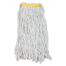 String Mop Replacement Head - Synthetic Washing Mops - 16 oz (453 g) - White