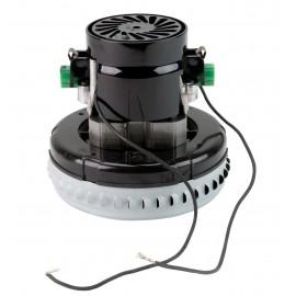 "Bypass Vacuum Motor - 5.7"" dia - 1 Fan - 120 V - 7A - 827 V - 291 Airwatts - 49.5"" Water Lift - 133 CFM - Lamb / Ametek 116196-00 (S)"