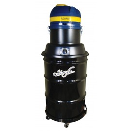 Wet & Dry Commercial Vacuum - FLOWMIX Technology - 2 Motors - Capacity of 45 Gal (171 L) - with Accessories & Trolley - 50' (15 m) Power Cord