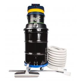 Aspirateur commercial sec et humide - 2 moteurs - capacité de 171 L (45 gal) - avec accessoires et chariot - corde d'alimentation de 9 m (30')