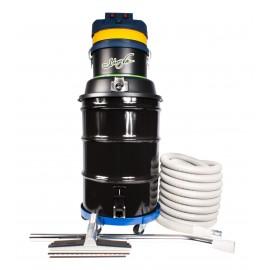 Aspirateur commercial sec et humide - 3 moteurs - capacité de 171 L (45 gal) - avec accessoires et chariot - corde d'alimentation de 15 m (50')