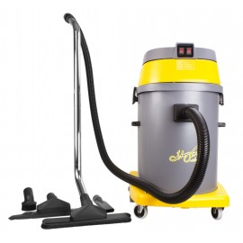 Wet & Dry Commercial Vacuum - Johnny Vac JV58 - Capacity of 15 gal (57 L) - 10' (3 m) Hose - Metal Wands - Brushes and Accessories Included - Ghibli 17761250210