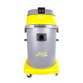 HEPA Certified Commercial Vacuum - 15 gal (57 L) Capacity - 10' (3 m) Hose - Metal Wands - Brushes and Accessories Included - Ghibli