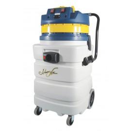 Aspirateur commercial sec et humide extra robuste - capacité de 85 L (22,5 gal) - 2 moteurs - prise électrique - boyau de 3 m (10') - manchons en plastique et aluminium - brosses et accessoires inclus - IPS ASDO07433