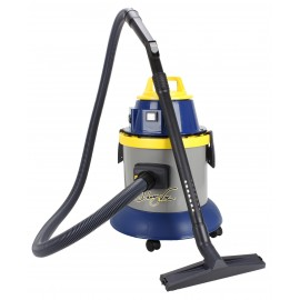 Wet & Dry Commercial Vacuum - Capacity of 4 gal (15 L) - Electrical Outlet for Power Nozzle - 10' (3 m) Hose - Plastic and Aluminum Wands - Brushes and Accessories Included - IPS ASDO010515