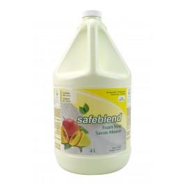 Savon mousse pour les mains et le corps - mangue papaye - 4 L (1,06 gal) - Safeblend HFMP G04
