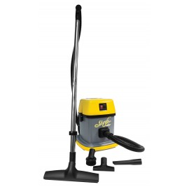 Commercial Vacuum Johnny Vac - Tank Capacity of 3 gal (12 L) - Accessories and Paper Bag Included - Integrated Electrical Outlet - 1000 W Motor - Swivel Casters - Ghibli 15961250018