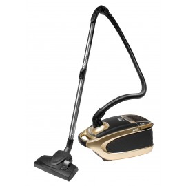 Canister Vacuum Cleaner - Digital Control - HEPA Filtration - Set of Brushes