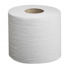 """Papier hygiénique standard - 2 épaisseurs - 4,25"""" x 3,25"""" (10,8 cm x 8,3 cm) - boîte de 96 rouleaux de 500 feuilles - blanc - Cascades Pro B041"""