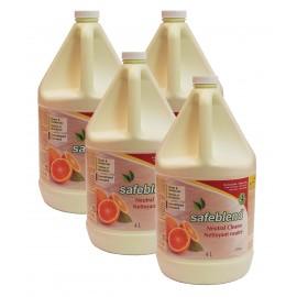 Nettoyant neutre - concentré - orange - 4 L (1,06 gal) - Safeblend NCOR G04 - Boîte de 4