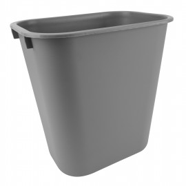 Trash Garbage Can Bin - 6.3 gal (24L) - Grey