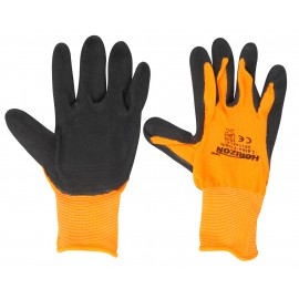 Work Latex Foam Coated Gloves - High Visibility - Horizon - Large or Extra-Large Size - 05-1144-LXL - pair