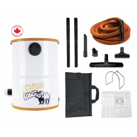 Compact Workshop & Garage Utility Vacuum System with Accessories from RhinoVac - Used
