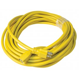 50' (15 m) Commercial Electric Cord - 14/3 - 600 V - Yellow