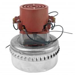 """Moteur pour aspirateur """"Bypass"""" - dia 5,7"""" - 2 ventilateurs - 120 V - 10 A - 1000 W - 364 watts-air - levée d'eau 80"""" - CFM (pi3/min) 104"""" - Domel 492.3.575-4 - Usagé"""