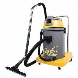 Commercial Wet & Dry Vacuum - with Drain Hose - 10 gal (38 L) Tank Capacity - 10' (3 m) Hose - Metal Wands - Brushes and Accessories Included - Ghibli 17261250018 - AS400P