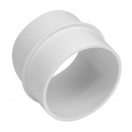 Union male - pour installation aspirateur central - blanc