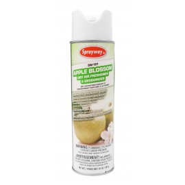 Air Freshener - Apple Blossom Scent - 10 oz (284 g) - Sprayway SW161