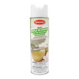 Désodorisant en aérosol - parfum fleur de pommier - 284 g (10 oz) - Sprayway SW161