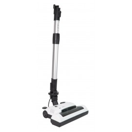 "Power Nozzle - 12"" (30.5 cm) Cleaning Path - Adjustable Height - Quick Connect Release - White - Flat Belt - Telescopic Wand - Headlight - Roller Brush - Johnny Vac PN33W"