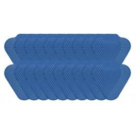 Tamis d'urinoir à longues tiges - fragrance menthe bleu - Wiese ETAAS136 - paquet de 20