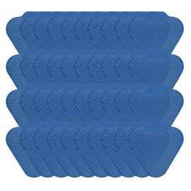Tamis d'urinoir à longues tiges - fragrance menthe bleu - Wiese ETAAS136 - paquet de 40