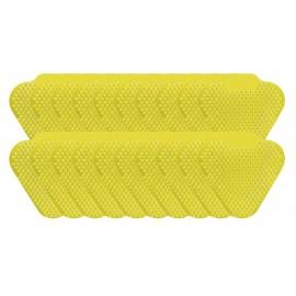Tamis d'urinoir à longues tiges - fragrance citron vert - Wiese ETAAS139 - paquet de 20