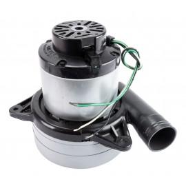 Tangential Vacuum Motor - 7.2'' dia - 3 Fans - 120 V - Epoxy Paint - Lamb / Ametek 117507-13(P)