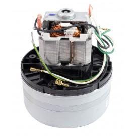 """Moteur pour aspirateur """"Thru-Flow"""" - 2 ventilateurs - 120 V - Ametek 040096 (122683-07)"""