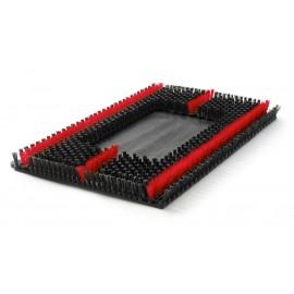 """Sonic Scrub Brush 14"""" x 20"""" for Oscillating Rectangular Floor Machines - Malish 702420"""