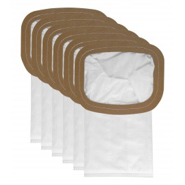 Microfilter Bag for Back Pack Johnny Vac JVBP6 - Pack of 10 Bags