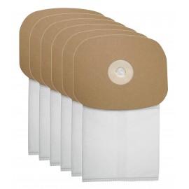 Sac microfiltre HEPA pour aspirateur dorsal Johnny Vac JVBP6 - paquet de 6 sacs