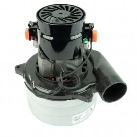 """Tangential Vacuum Motor - 5.7"""" dia - 3 Fans - 120 V - 10.7 A - 1258 W - 368 Airwatts - 117.4"""" Water Lift - 99 CFM -Lamb / Ametek 116565-00"""