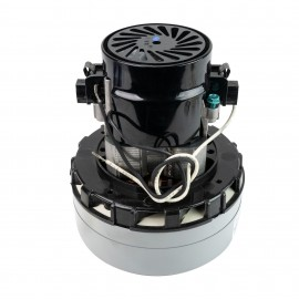 "Vacuum Motor - 5.7"" dia - 2 Fans - 120 V - 9.2 A - 1049 W - 293 Airwatts - 91.5"" Water Lift - 103 CFM - Epoxy Paint - Lamb / Ametek 116758-13 (B)"