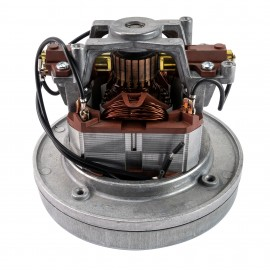"Thru-Flow Vacuum Motor - 5.7"" dia - 1 Fan - 120 V - 10 A - 1100 W - 84"" Water Lift - 146"" CFM - Domel 496.3.447"