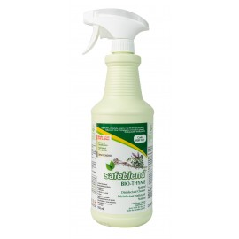Bio-Thyme Cleaner and Disinfectant - Ready to Use - 33.4 oz (950 ml) - Safeblend SRBP-X12 - Disinfectant for use against coronavirus (COVID-19)