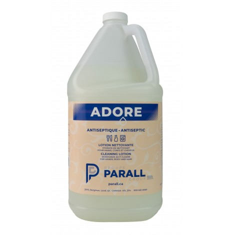 Antibacterial Cleaning Lotion - for Hands, Body and Hair - 1.06 gal (4 L) - Adore - Disinfectant for use against coronavirus (COVID-19)