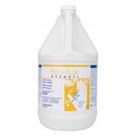 Hands and Body Antimicrobial Liquid Soap Bio-Lux Oranger - Ready to Use - 1.06 gal (4 L) - Safeblend BIOR - Disinfectant for use against coronavirus (COVID-19)