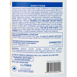 Hands Antimicrobial Liquid Soap Bio-Lux Oranger - Ready to Use - 1.06 gal (4 L) - Safeblend BIOR - Disinfectant for use against coronavirus (COVID-19)