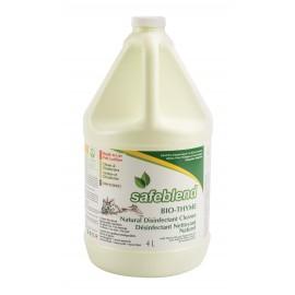 Nettoyant - désinfectant Bio-Thym - prêt à utiliser - 4 L (1,06 gal) - Safeblend SRBP G04 - désinfectant à utiliser contre le coronavirus (COVID-19)