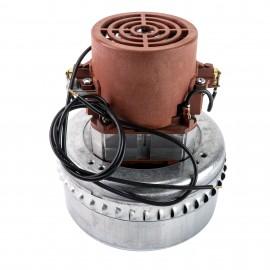 """Moteur pour aspirateur """"Bypass"""" - dia 5,7"""" - 2 ventilateurs - 110 V -12 A - 1100 W - 398 watts-air - levée d'eau 86"""" - CFM (pi3/min) 114 - Domel 492.3.304"""