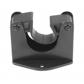 Plastic Wall Support for Wand - Black