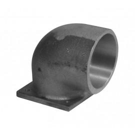 Adaptateur en métal 90° - pour installation aspirateur central
