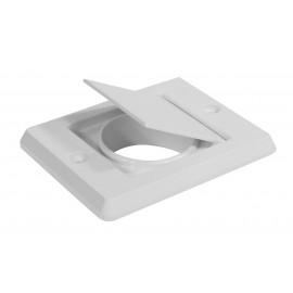 Exhaust Vent Cap - for Central Vacuum Installation - White - Hayden 793030W