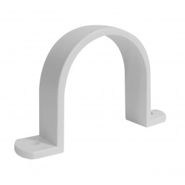 """2"""" Pipe Strap - for Central Vacuum Installation - White - Hayden 762017"""