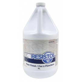 "RESISTOL 18"" - FLOOR FINISH - 4 L"