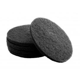 """Tampons pour polisseuse à plancher - pour décaper - 11"""" (28 cm) - noir - boîte de 5 - 66261000695"""